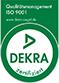 Dekra zertifiziert ISO 9001